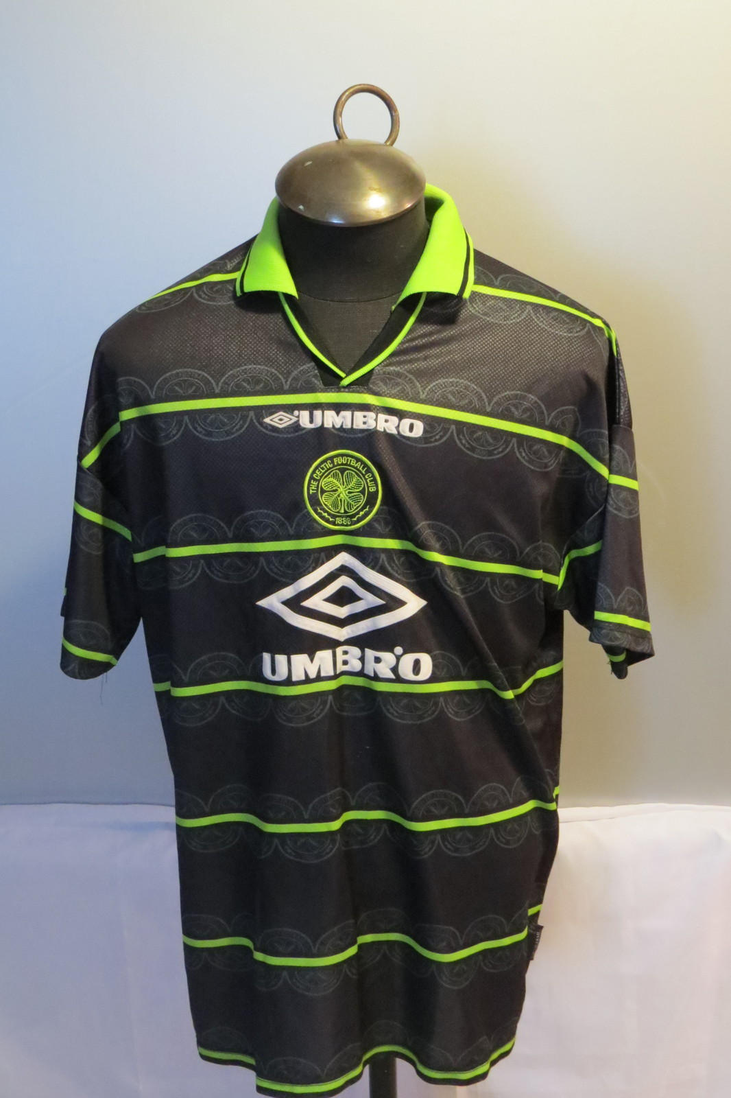 Glasgow celtic jersey retro away jersey 1998 99 by for Irish jewelry stores in nj