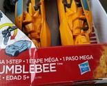 Transformers Age of Extinction Mega 1-Step Bumblebee With Bonus Stinger Figure