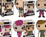 Funko POP-The Hunger Games-Katniss, Peeta, President Snow, & Effie Trinket