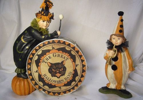 Bethany Lowe Great Halloween Band Drummers