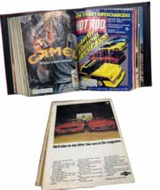 Vtg Jan-Dec 1981 Lot Bound Hot Rod Magazine High Performance Cars 1969 Binder image 6