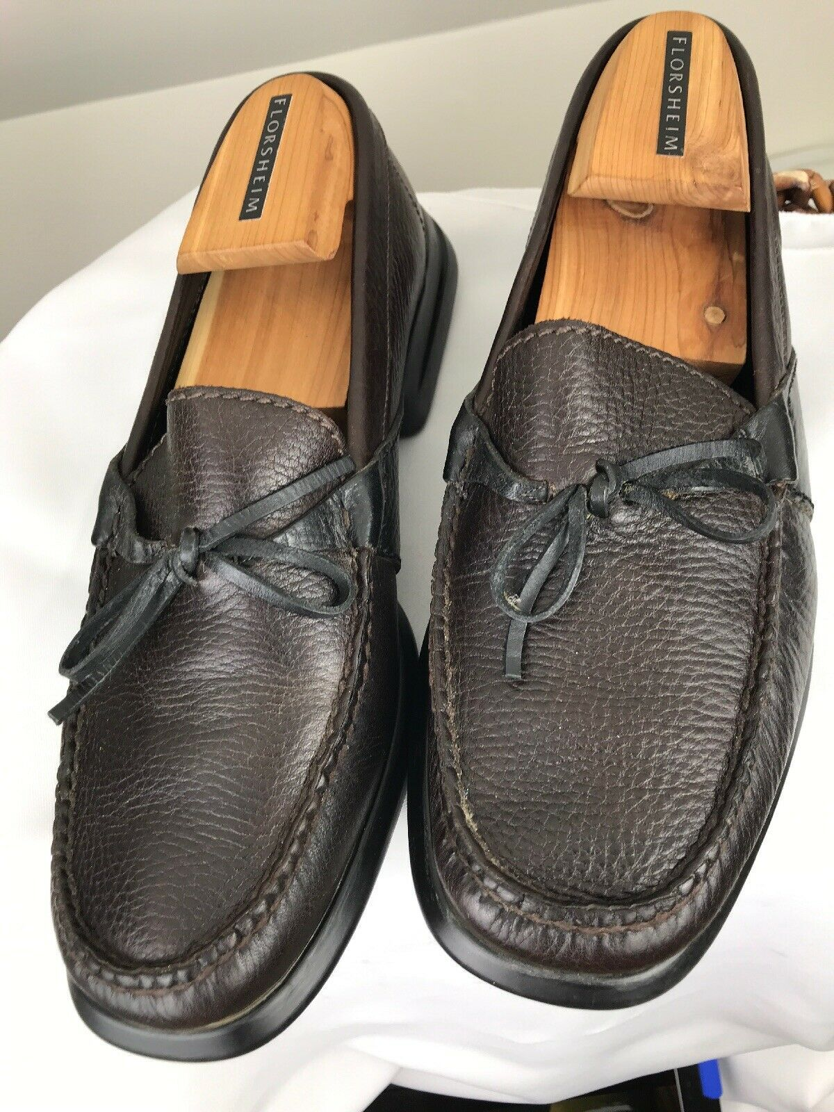 Cole Haan Men's Size 9M Country Brown Leather Loafers Driving Mocs Shoes image 3