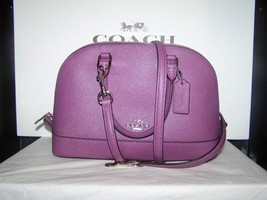 COACH F57555  MINI SIERRA Dome Satchel Leather ... - $129.95