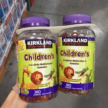 Sealed Kirkland Signature Children's Complete Multivitamin, 320 Gummies - $22.13