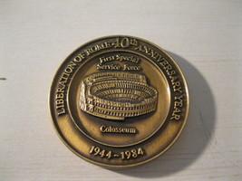 Token Liberation of Rome 40th Anniversary Colosseum USA Canada - $5.00