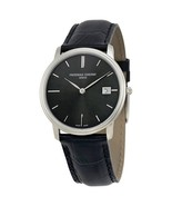 Frederique Constant Slim Line Black Sunray Mens Watch FC-220NG4S6 - $549.99