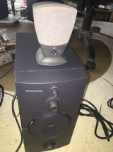 Classic Harman Kardon Dell computer HK 395 Subwoofer & 1 satellite speakers - $44.55