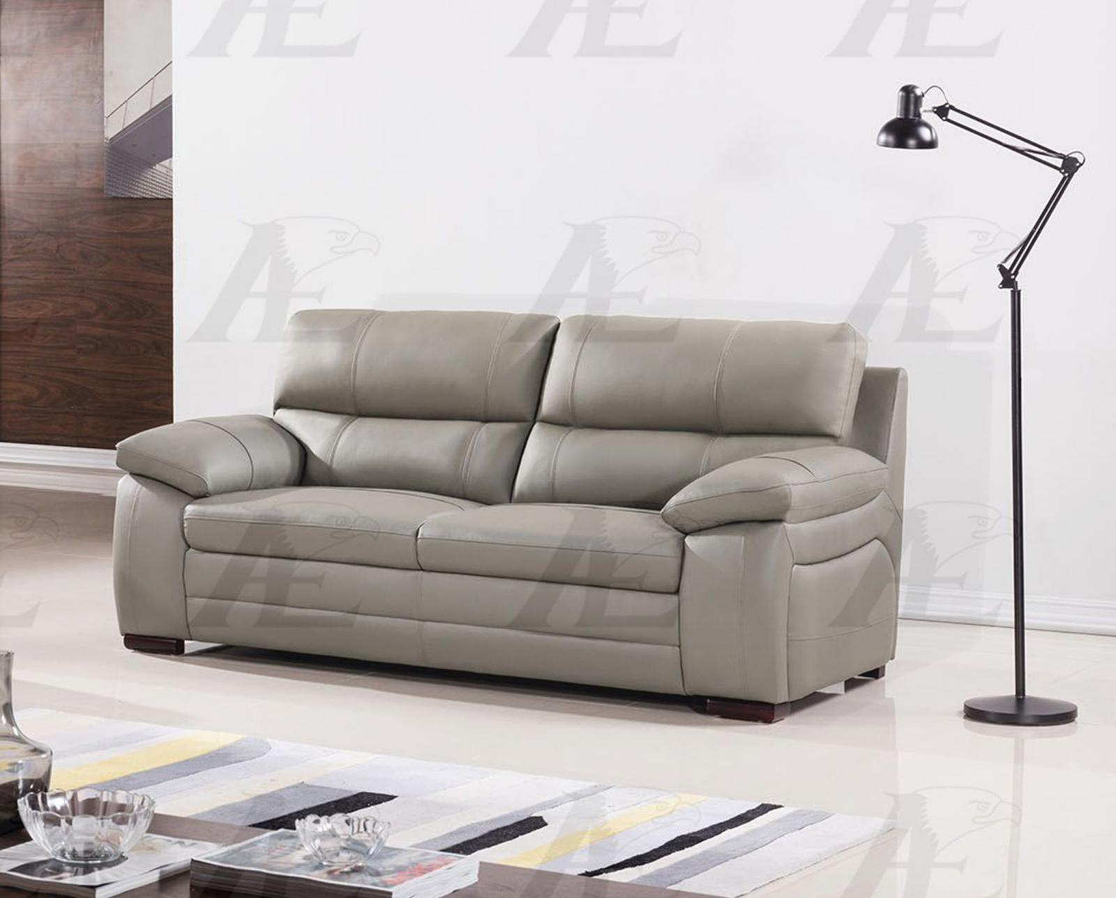 American Eagle EK-B520-GR Gray Sofa Genuine Leather