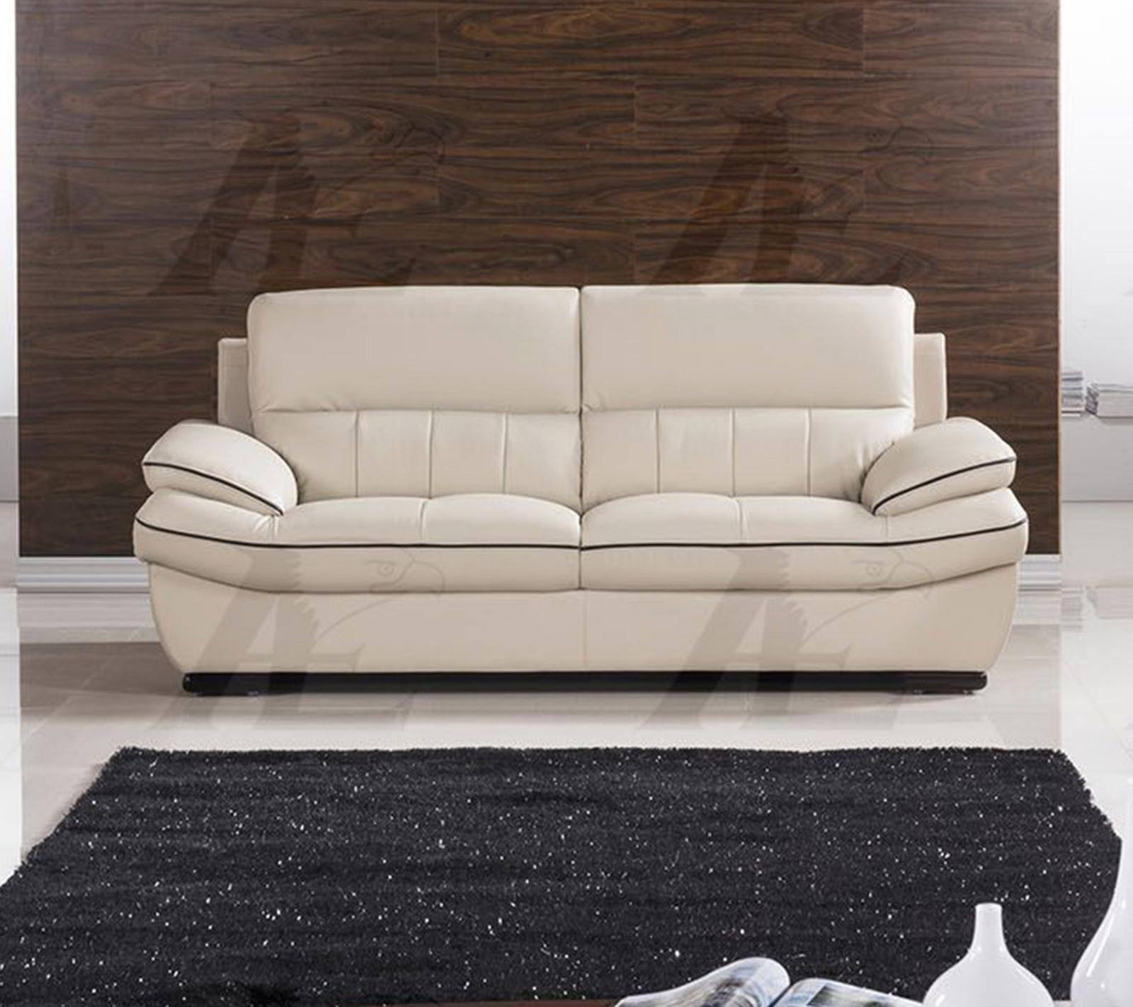 American Eagle EK-B305-LG.BK Light Gray Sofa Genuine Leather