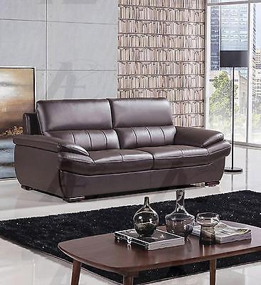 American Eagle EK-B305-DC Dark Chocolate Sofa Genuine Leather