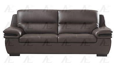 American Eagle EK-B113-DC Dark Chocolate Sofa Genuine Leather