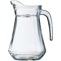 6X Arcoroc Glass Jugs 1.3Lt Commercial Pub Bar Restaurant Hotel Househol... - $40.46