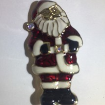 Jewelry Christmas Santa Brooch Pin - $7.91