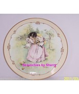 Little Ladies A Day in the Country Collector Plate Vintage Victorian Chi... - $59.95