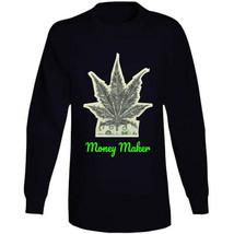 Money Maker 420 Canna Long Sleeve T Shirt image 2