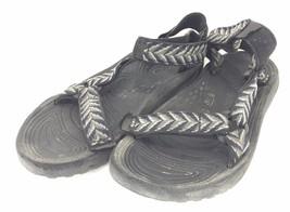 Teva Mens 9 M Sport Sandals Black Gray Olive Waterproof - $50.74 CAD