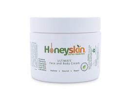 Organic Moisturizer Cream for Face and Body 2oz by Honeyskin; FAST FREE ... - $19.45