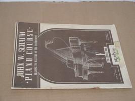 JOHN W. SCHAUM PIANO COURSE, THE BROWN BOOK F, PIANO COURSE SOFTCOVER 19... - $11.87