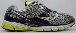 Saucony Guide 6 Men's Running Shoes Size US 12.5 M (D) EU 47 Silver 20179-2