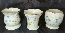 Lenox Floral Votives Set of 3  Candle Holders - $12.19
