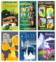 6 Vintage Disneyland Magnets - Set B. - $15.49