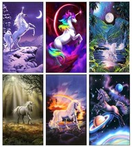 6 Unicorn Magnets - Set B. - £11.75 GBP