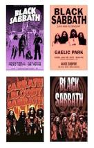 4 Black Sabbath Magnets - Set A. - $14.49