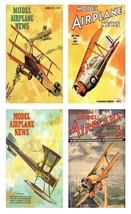 4 Model Airplane News Magnets - Set B. - $14.49