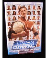 WWE Wrestling Souvenir Program RAW Smack Down 2005 - $22.99