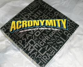 Acronymity Board Game - $19.99