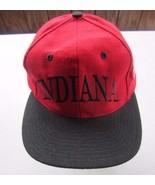 Vintage Indiana University HOOSIERS SNAPBACK Cap The Game - $11.87