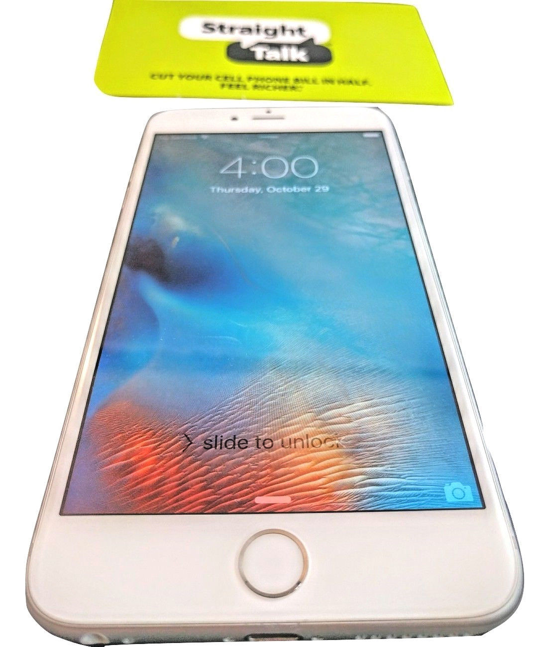 Apple iPhone 6 Plus - 16GB - Silver Straight Talk Smartphone AT&T VERY GOOD COND for sale  USA