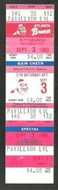 Pittsburgh Pirates Atlanta Braves 1983 Ticket Mike Easler hr Dale Murphy... - $4.50