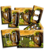 TUSCAN VINEYARD WINE GRAPES LIGHT SWITCH WALL P... - $7.99 - $15.99