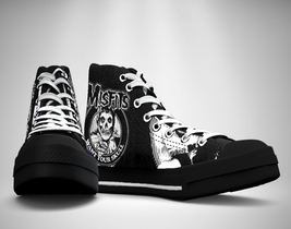 The misfits canvas sneakers shoes thumb200