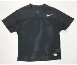 Nike Black Stock Flag Football Mesh Practice Jersey Men's Large Game Top... - $14.47