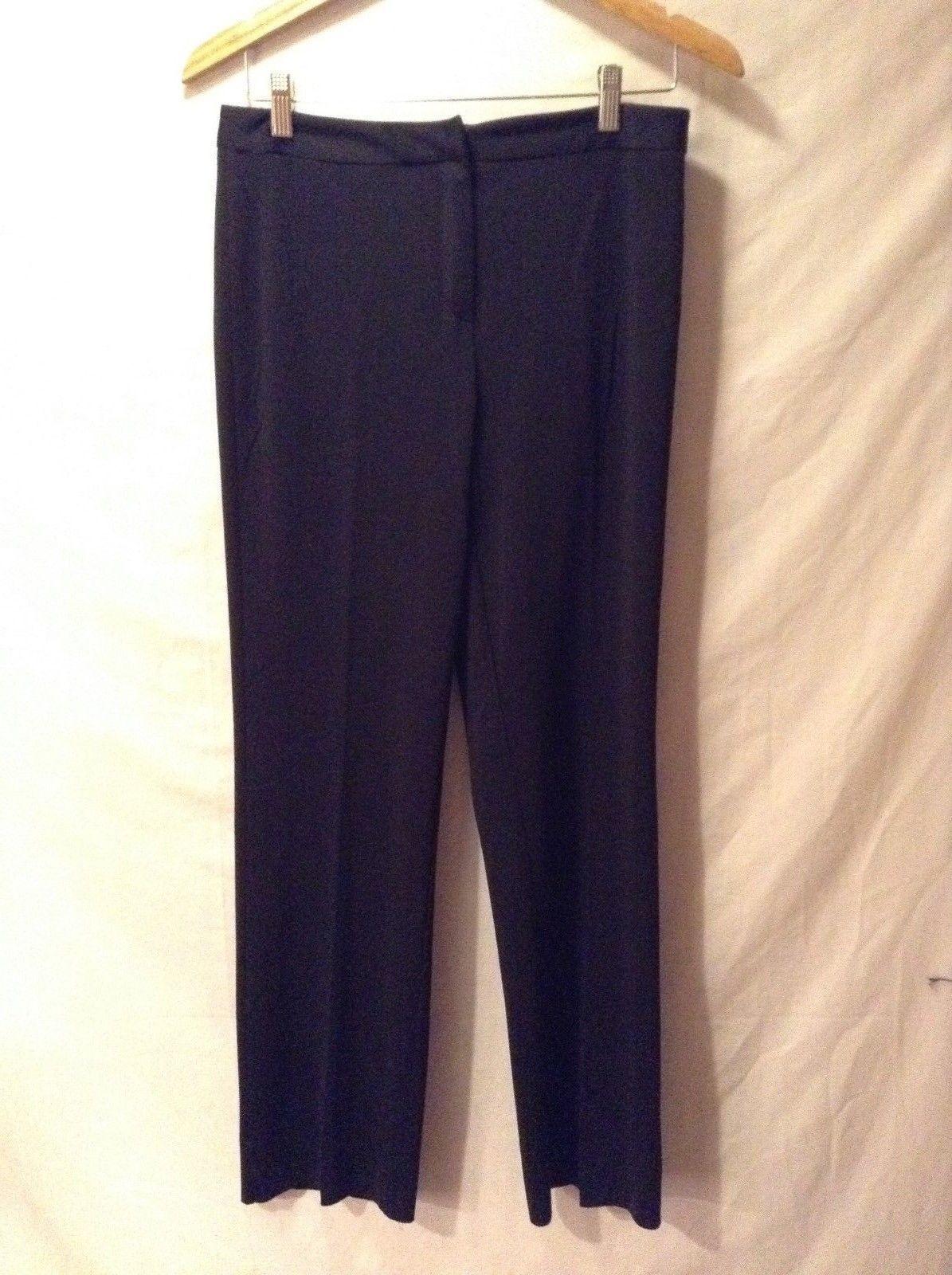 MODA International Black Dress Pants Sz 8