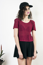 Red lace top - $24.70
