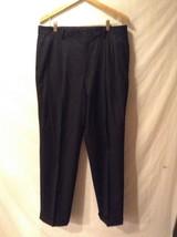 J CREW Black Dress Pants Sz 36/32
