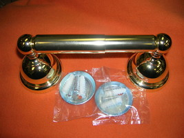 Dura Polished Brass Wall Mount Toilet Paper Holder #TOLP-1PB UPC:7105344... - $9.90