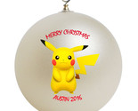 Pokemon pikachu christmas ornament thumb155 crop