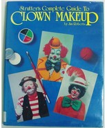 Strutter's Complete Guide to Clown Makeup Jim Roberts hardcover and dust... - $20.00