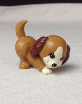 Vintage 1992 Littlest Pet Shop Pets Dog Puppy Game Brown Playful Puppies... - $13.32