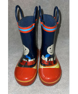 Western Chief Thomas the Train Rain Boots Boys Size 5 Goulashes Good Con... - $14.96