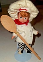 """Madame Alexander Doll Chef Alexander """"When I grow up"""" display use only v... - $45.00"""