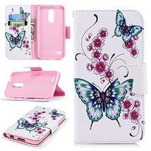 XYX Wallet Phone Case for LG K30,[Kickstand][Wrist Strap][Card Slots] Pa... - $9.88