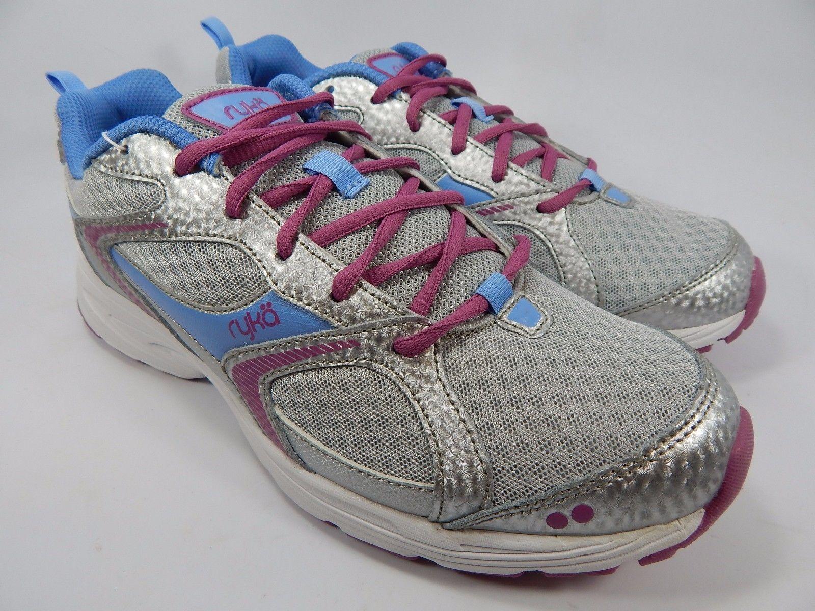 Ryka Streak SMR Women's Running Shoes Size US 10 M (B) EU 41.5 Silver Pink Blue