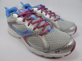 Ryka Streak SMR Women's Running Shoes Size US 10 M (B) EU 41.5 Silver Pink Blue