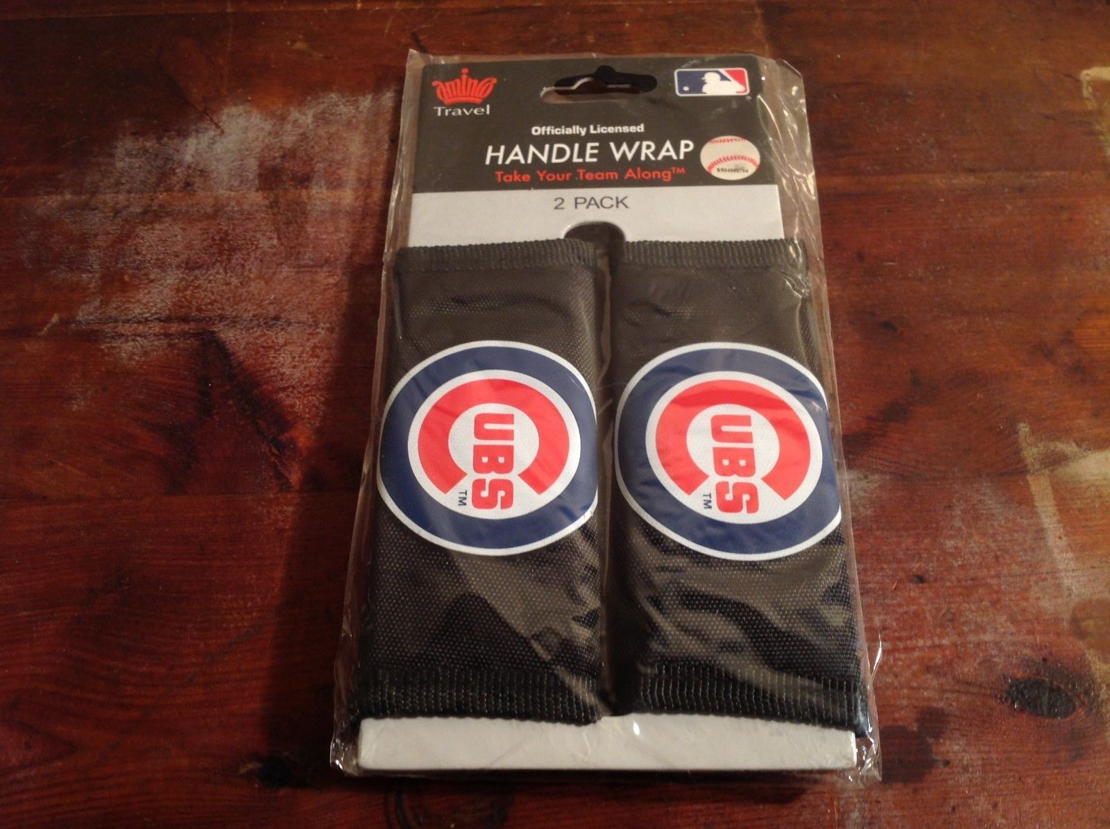 NEW Officially Licensed CUBS Two Pack Handle Wrap Travel Accessory