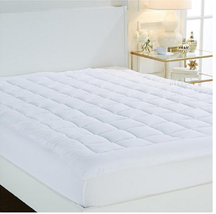 Concierge Collection Magic Loft® Mattress Pad, White, Size Twin - $44.54